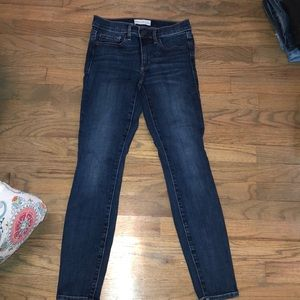 GAP DENIM TRUE SKINNY JEANS